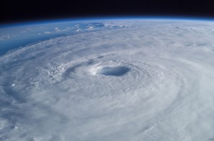 Hurricane Isabel taken from the International Space Station.