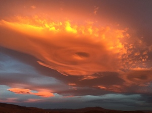 Photo Courtesy Jeff Houk. Taken Sunday (March 15) 7:02 am over Reno, NV.