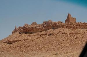 roman fort desert