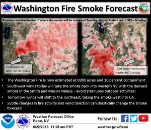 Courtesy National Weather Service Reno