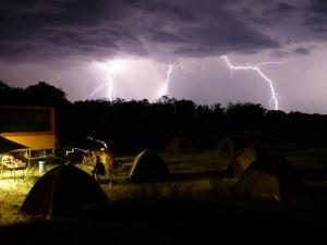 camping lightning