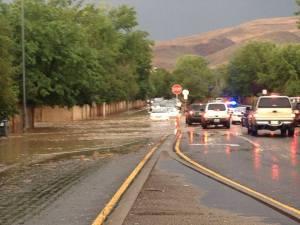 Flash Flooding Sparks