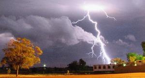 Lightning building