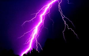Lightning purple