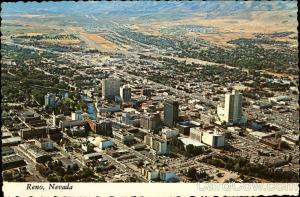 Aerial View of City Reno