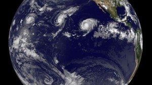 It's been a busy Pacific hurricane season.