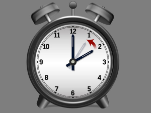 Daylight Saving ends 2 am Sunday morning.