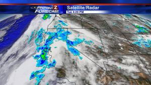 Satellite/radar Tuesday afternoon.