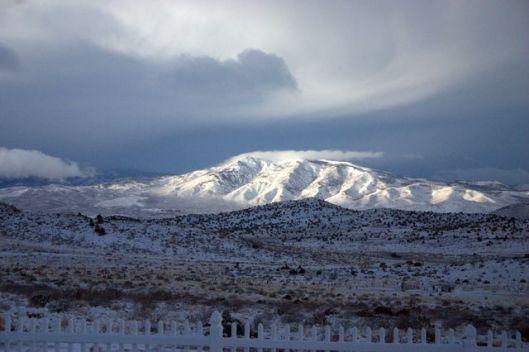 peavine snow