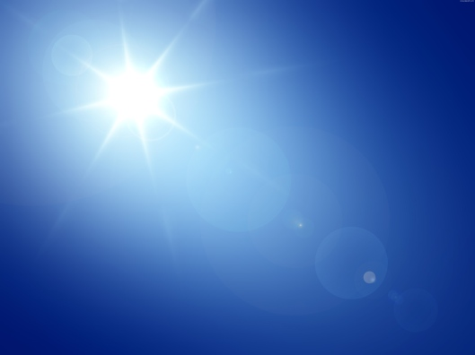 blue-sky-sun