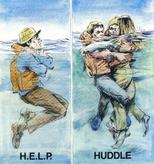 hypothermia-huddle