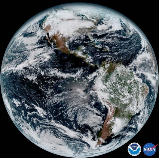GOES-16 Full Globe