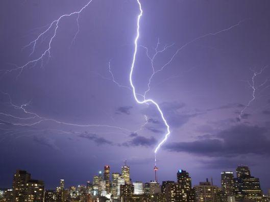 Lightning positive