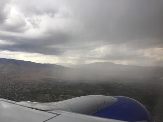 Rain over Reno